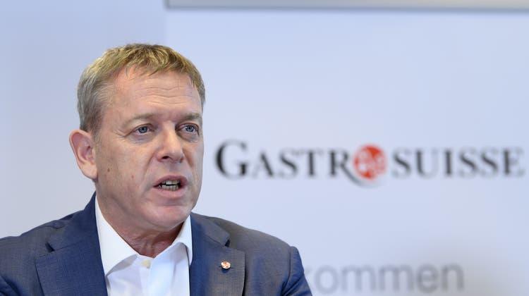Casimir Platzer will nicht, dass ein Impfschutz als Zugangskriterium für Restaurants gelten soll. (Keystone)