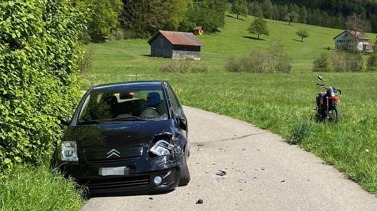 Blick auf die Unfallstelle. (Bild: Kapo Thurgau)