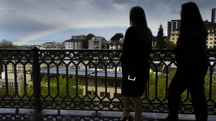 Mehr Grün, weniger Verkehr: Lausannes Stadtregierung hat die ersten Massnahmen ihres «Klimaplans 2050» präsentiert. (Symbolbild) (Keystone)