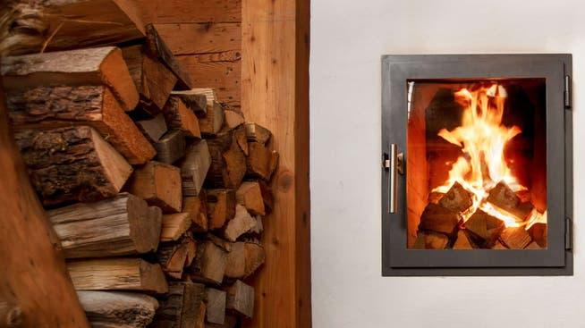 Wer mit Holz heizt, tut viel fürs Klima.