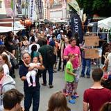 Das Streetfood-Festival lockt mit Essen aus aller Welt. (Bruno Kissling)