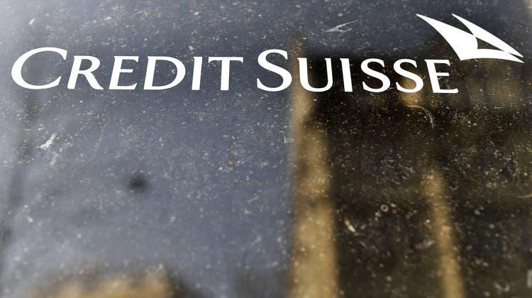 Trübes Bild: Aktien der Credit Suisse haben seit Anfang Jahr rund 18 Prozent an Wert verloren. (Walter Bieri / KEYSTONE)