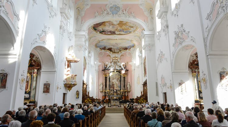 Festgottesdienst im Arlesheimer Dom. (Bild: Martin Toengi / BLZ)