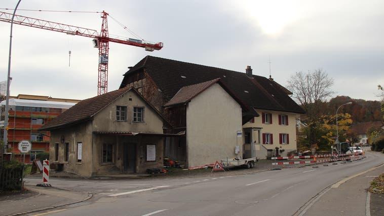 Die «Alte Schmiede» in Boniswil soll saniert werden. (Anja Suter)