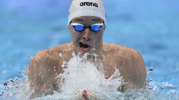 Yannick Käser startet an den Europameisterschaften in Budapest. (Tamas Kovacs / EPA)
