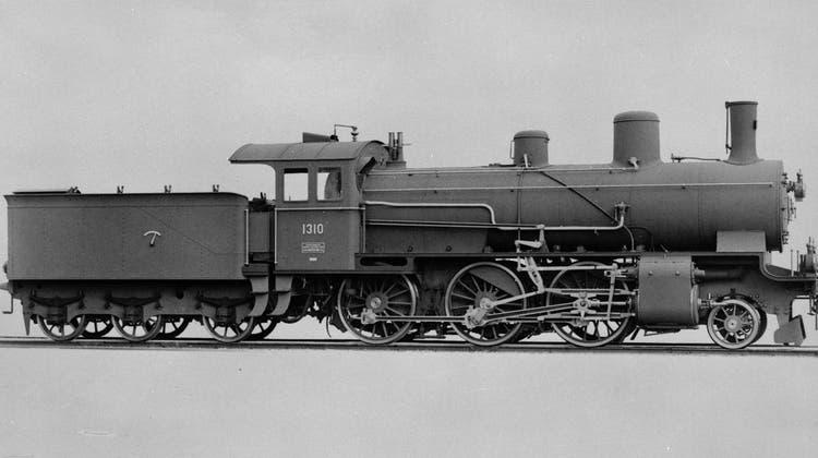 Eine Lokomotive dieser Bauart zieht den Unglückszug, der im Rickentunnel stehen bleibt. (Bild: SBB Historic)
