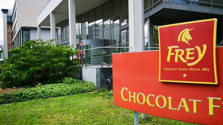 Die grösste Schoggi-Fabrik der Schweiz: Chocolat Frey. (Urs Helbling / Aargauer Zeitung)