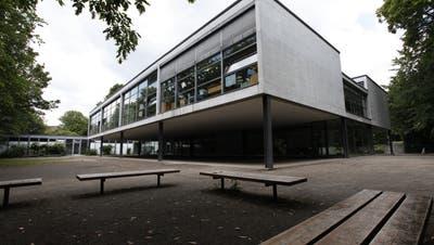 Schulhaus Wildbach in Solothurn. (Hanspeter Bärtschi)
