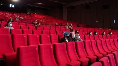 Voll ausgelastet, noch gar nicht voll: Kino in Biel. (Foto: Adrian Reusser / Key)