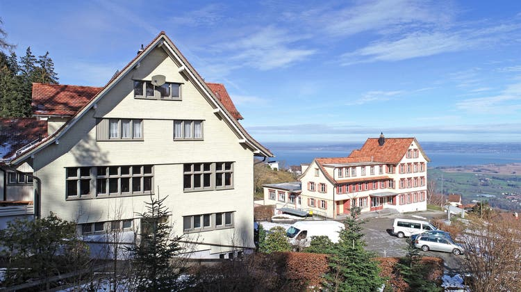 Das Asylzentrum Sonneblick in Walzenhausen. (Bild: PD)