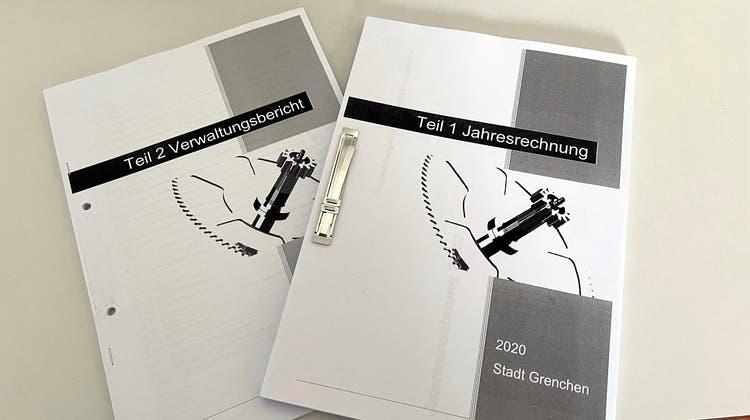 Jahresrechnung und Verwaltungsbericht 2020 der Stadt Grenchen. (Oliver Menge)