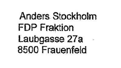 Screenshot des Vorstosses der beiden FDP-Politiker. (Bild: Mathias Frei)