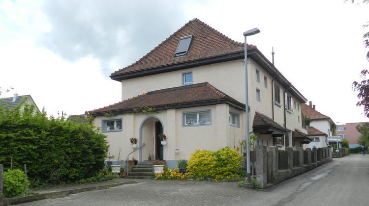Ein Haus am Georges-Meyer-Weg in Wohlen, Sinnbild für die Wohnbauförderung um 1920. (Bild: Jörg Baumann)