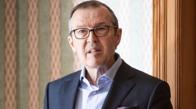 Markus Hongler verzichtete nach seiner Wahl in den Verwaltungsrat der Mobiliar auf das Präsidium. (Manuela Jans-Koch (11.02.2020))