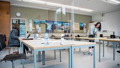 Fast normale Abschlussprüfungen für Rheintaler Lernende