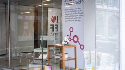 Das Stadtlabor befindet sich an der Zürcherstrasse 158 in Frauenfeld. (Bild: Kevin Roth (11.02.2021))