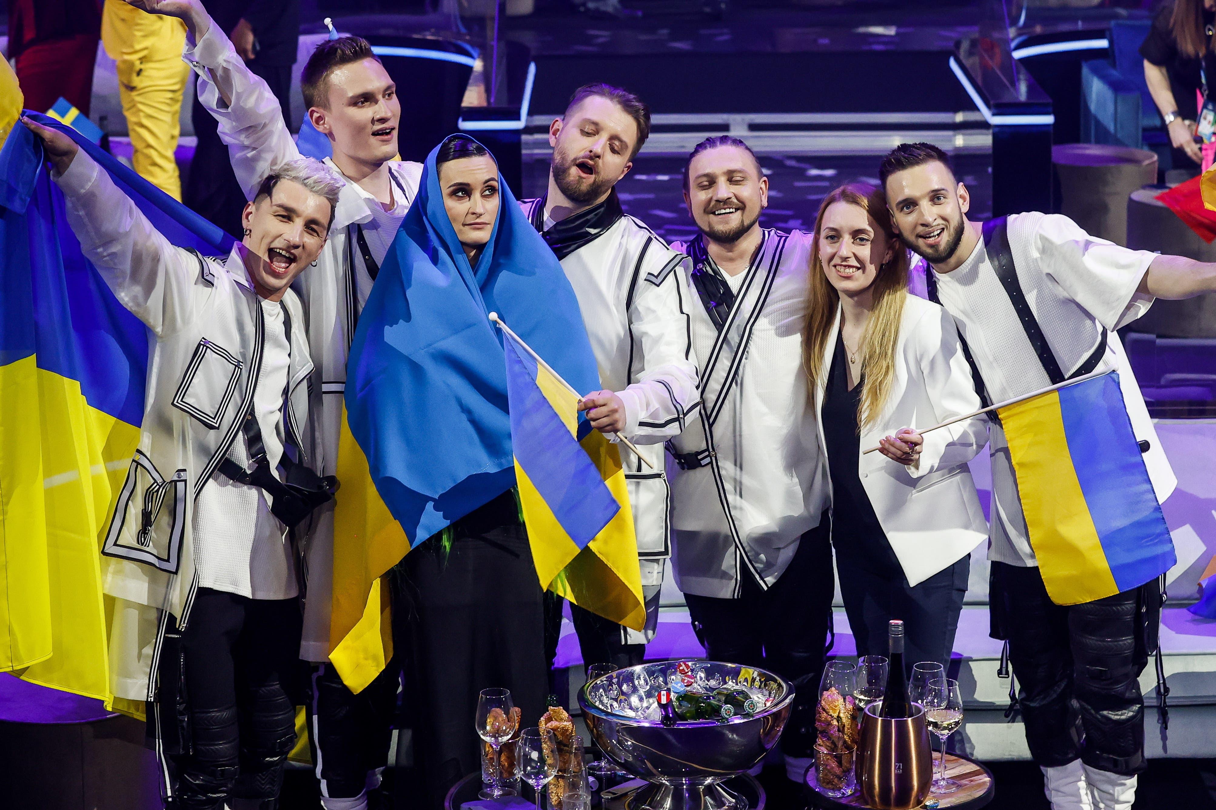 Auch die Musiker aus der Ukraine konnten sich für das Finale qualifizieren.