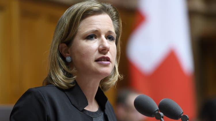 Christa Markwalder setzt sich beim Rahmenabkommen für einen Kompromiss ein. (Keystone)