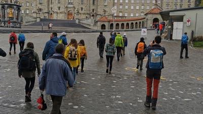 Die Teilnehmer in Einsiedeln. (Bild: PD)