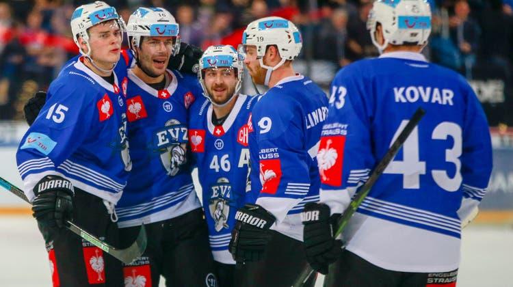 Für den EV Zug ist es bereits die siebte Teilnahme an der Champions Hockey League. (Bild: Marc Schumacher/ Freshfocus (Zug, 19. November 2019))