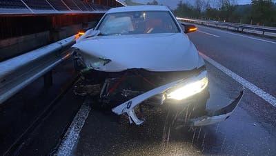 Eine 19-Jährige verlor die Kontrolle über ihr Fahrzeug. (Kapo AG)