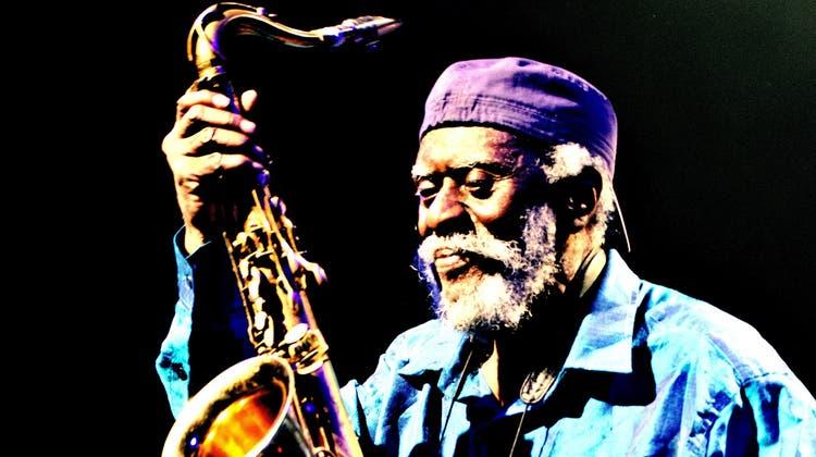 Saxofon-LegendePharoah Sanders. (Paul Charbit / Gamma-Rapho)
