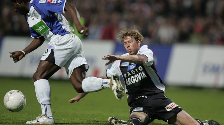 Andy Egli war von August 2004 bis Dezember 2005 Cheftrainer des FC Aarau. (Benjamin Manser)