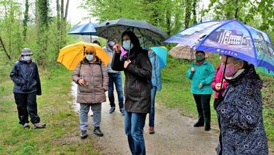 Ein Spielplatz mit seltenen Bewohnern: Führungen offenbaren spannende Geschichten des Murg-Auen-Parks