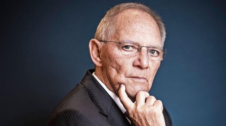 «Zu wehleidig sollte man in der Schweiz nicht sein»: Wolfgang Schäuble über die EU, Merkel und wie er sich jung hält