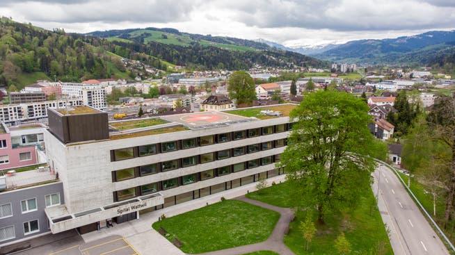 Die Zukunft des Spitals Wattwil ist heute ungewiss.