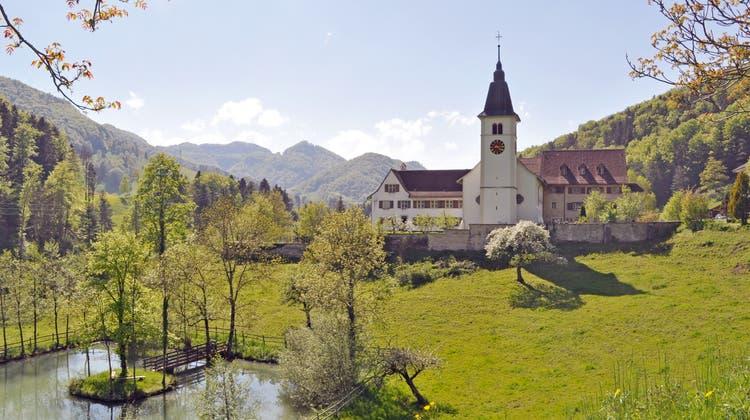 Auf der Klostertourwird auch das Kloster Beinwil angelaufen, wo man übernachten kann. (zvg)