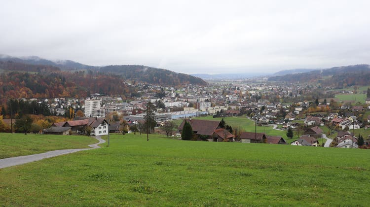 Unterkulm, in südöstlicher Richtung fotografiert (Archivbild 2020). (Flurina Dünki /Aargauer Zeitung)