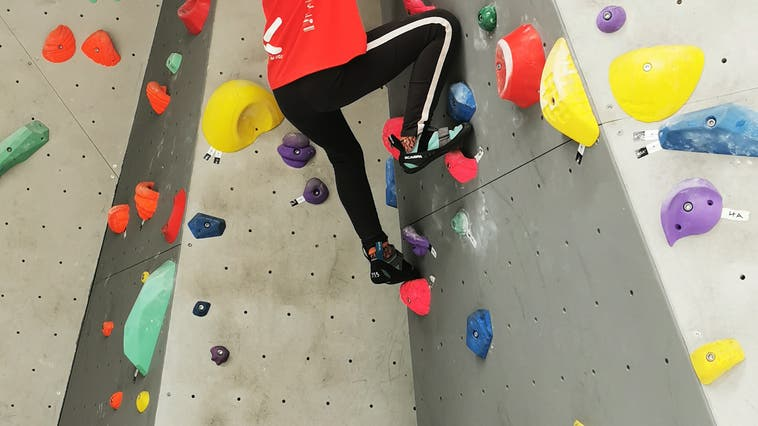Parkour/Kletter-Kurs mit dem Elternverein Oeschgen im Rolling Rock Aarau