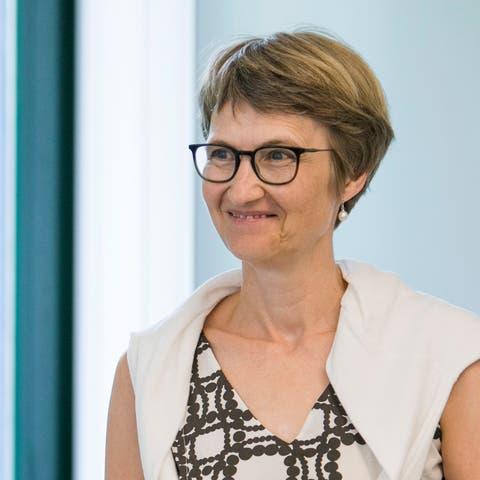 Simone Strub, Departementssprecherin.