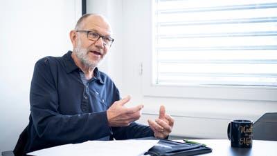 Der langjährige Stadtrat Franz Reithofer (65, SP) im Gespräch. (Bild: Kevin Roth)