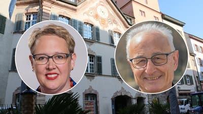 Wer zieht am 13. Juni ins Stadthaus ein? Sechs Männer und zwei Frauen stellen sich der Wahl. (Dennis Kalt / Aargauer Zeitung)