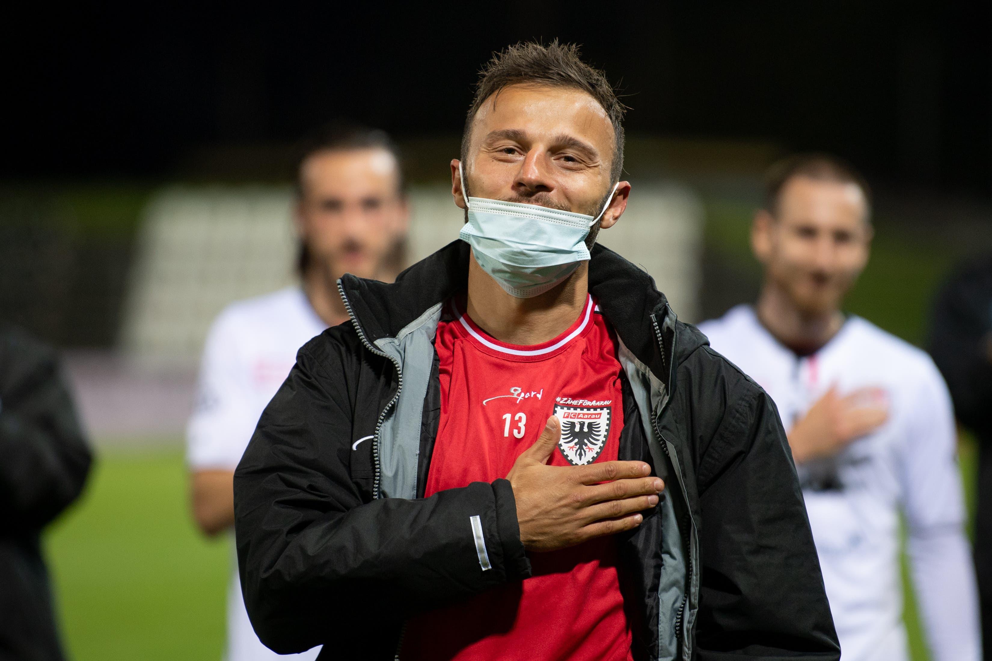 Elsad Zverotic beendet im Alter von 34 Jahren seine Karriere – zuletzt spielte er drei Jahren für den FC Aarau.
