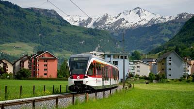 Auch Thema des Postulats: Mehr Kapazität für die Zentralbahn zwischen Stans und Luzern. (Bild: Archiv Nidwaldner Zeitung)