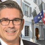 Stadtammann Markus Schneider im Badener Stadthaus. Geht es nach den Grünen, soll er sich künftig Stadtpräsident nennen. (Bild: Sandra Ardizzone)