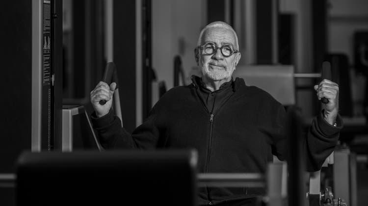 Werner Kieser fokussierte sich beim Krafttraining immer auf das Wesentliche. (Archivbild: Reto Martin (2016))