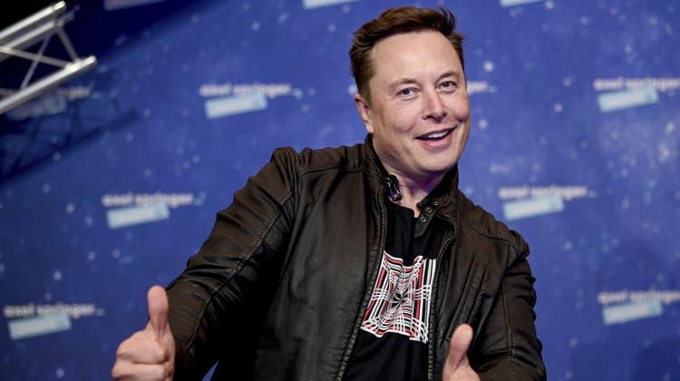 Der Oberkapitalist als Klimaretter: Tesla-Erfinder Elon Musk. (Britta Pedersen / AP)