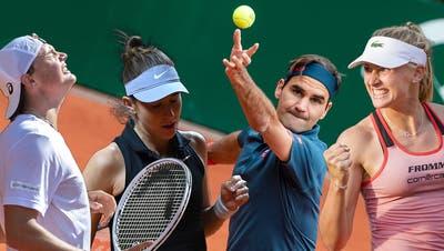 Roger Federer hat bei den French Open geringe Erwartungen. (Pascal Muller/Freshfocus)