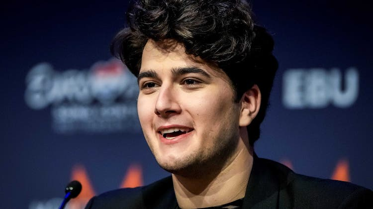 Unter dem Künstlernamen Gjon's Tears vertritt Gjon Muharremaj die Schweiz am diesjährigen Eurovision Song Contest in Rotterdam. (Keystone)