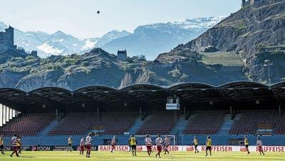 Verkörpert eine ganze Region: Der FC Sion in seinem unvergleichlichen Tourbillon. (Keystone)