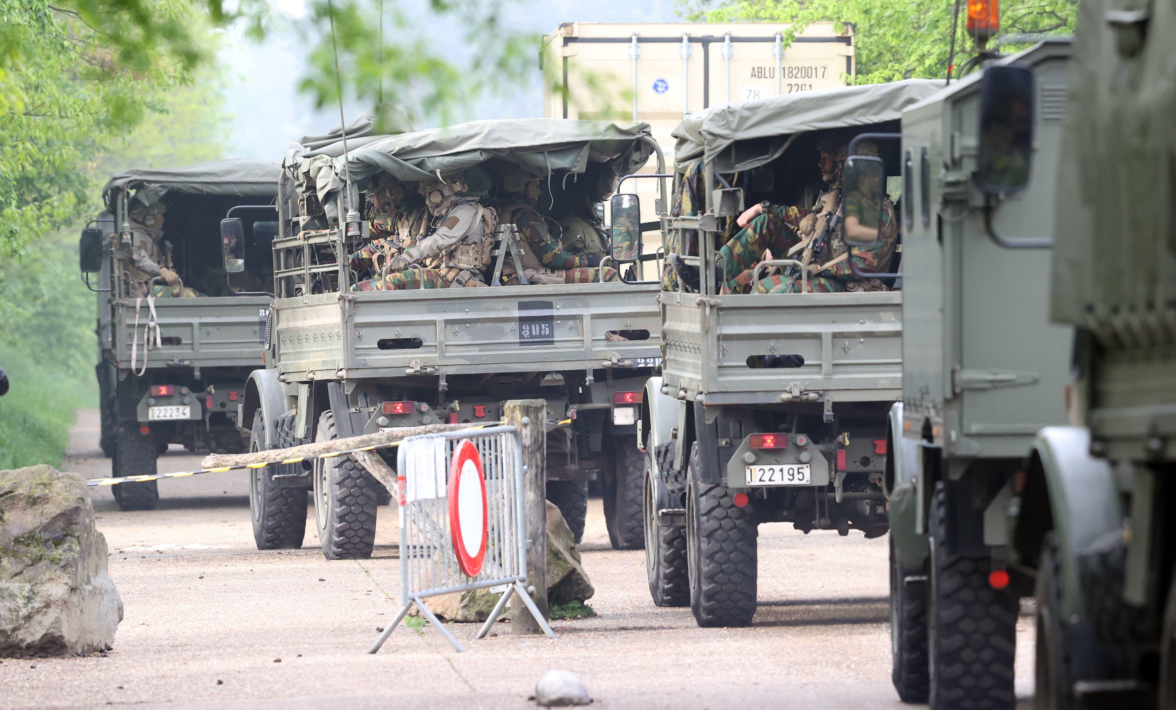 Rund 400 Einsatzkräfte suchen nach Jürgen Conings