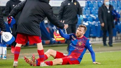 Zwischenzeitlich lag der FC Basel am Boden. Er schaffte es aber, wieder aufzustehen. (Freshfocus)