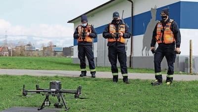 Diese Drohne wird in Zukunft die Einsatzleitung erleichtern. (Bild: PD)