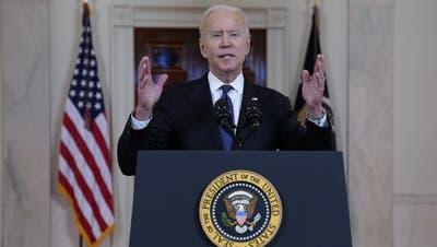 Stellt die Schweiz auf eine Stufe mit Bermuda: US-Präsident Joe Biden. (Evan Vucci / AP)