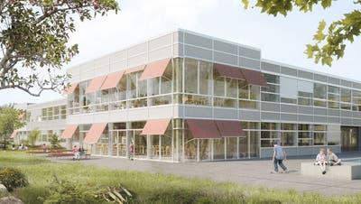 So könnte das neue Schulhaus dereinst aussehen. (Visualisierung: zvg/Nightnurse Images Gmbh)