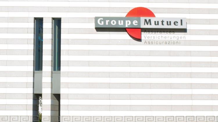 Der Hauptsitz der Groupe Mutuel in Martigny: Hier hatte Präsident Pierre-Marcel Revaz sein Büro bis im letzten Herbst. Keystone (KEYSTONE)